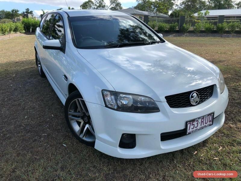 2011 Holden Commodore SV6 Wagon holden commodoresv6