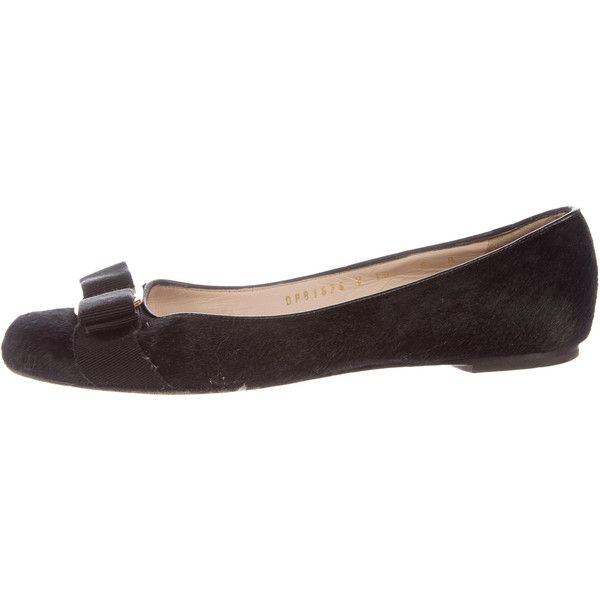 cheap sale Inexpensive Salvatore Ferragamo Ponyhair Round-Toe Flats clearance newest cheap sale recommend buy cheap manchester great sale free shipping cheap price oEwadS