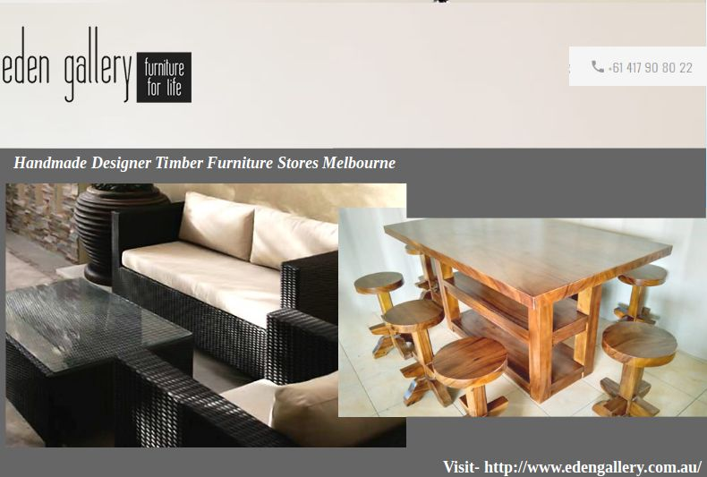 Eden Gallery Is One Of The Leading Designer Furniture Stores In