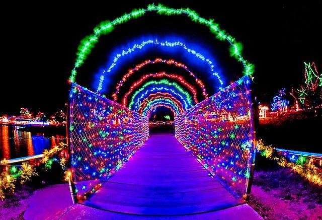 17 Christmas Light Displays In Oklahoma That Are Pure Magic - 17 Christmas Light Displays In Oklahoma That Are Pure Magic