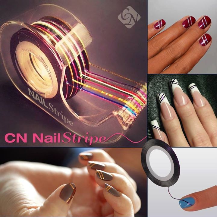 I will try this p striped nails crystal nails