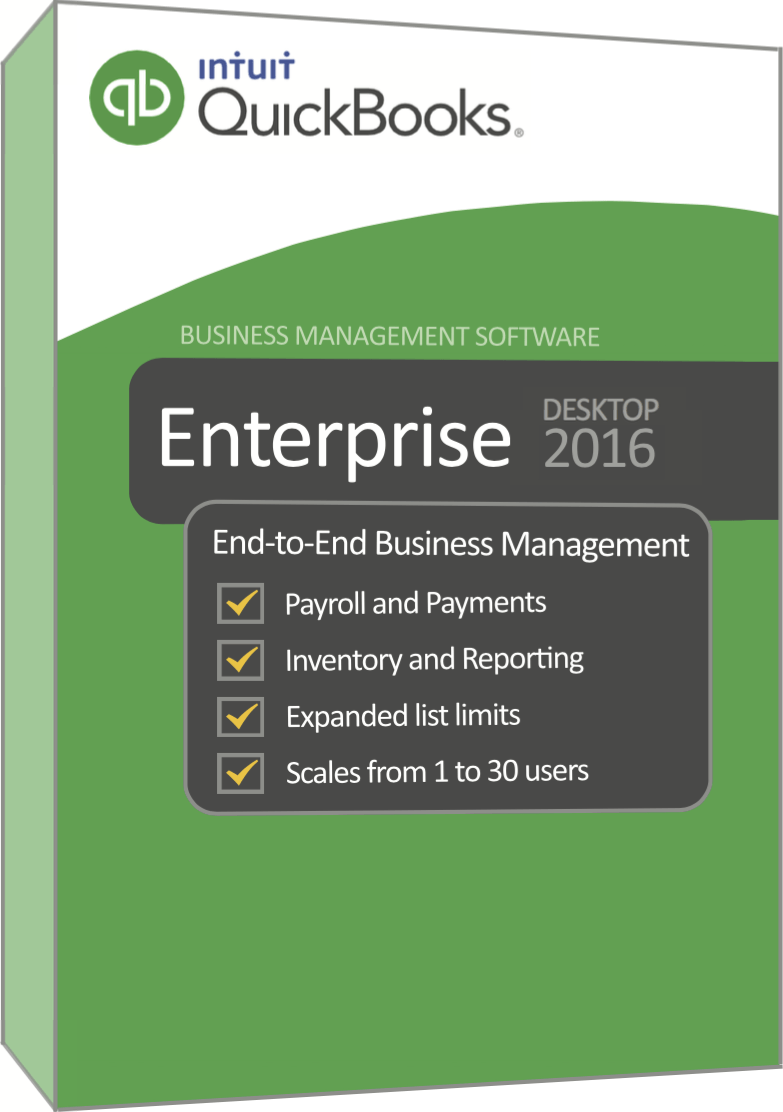 QuickBooks Enterprise 2016 {Crack + Serial Key} Download