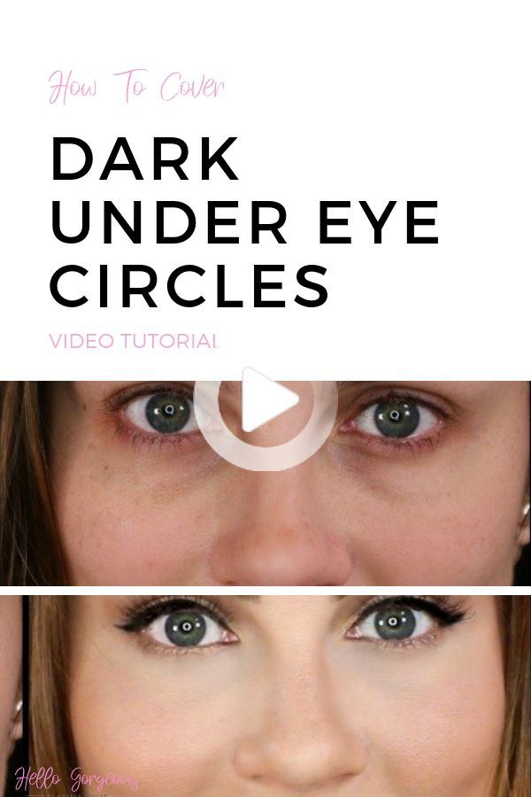 How to Cover Dark Under Eye Circles in 2020 Dark under