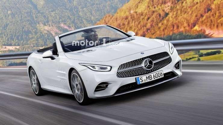 2021 Mercedes Sl Motor1 Com Hersteller Mercedes Convertible Mercedes Slk Mercedes Sl