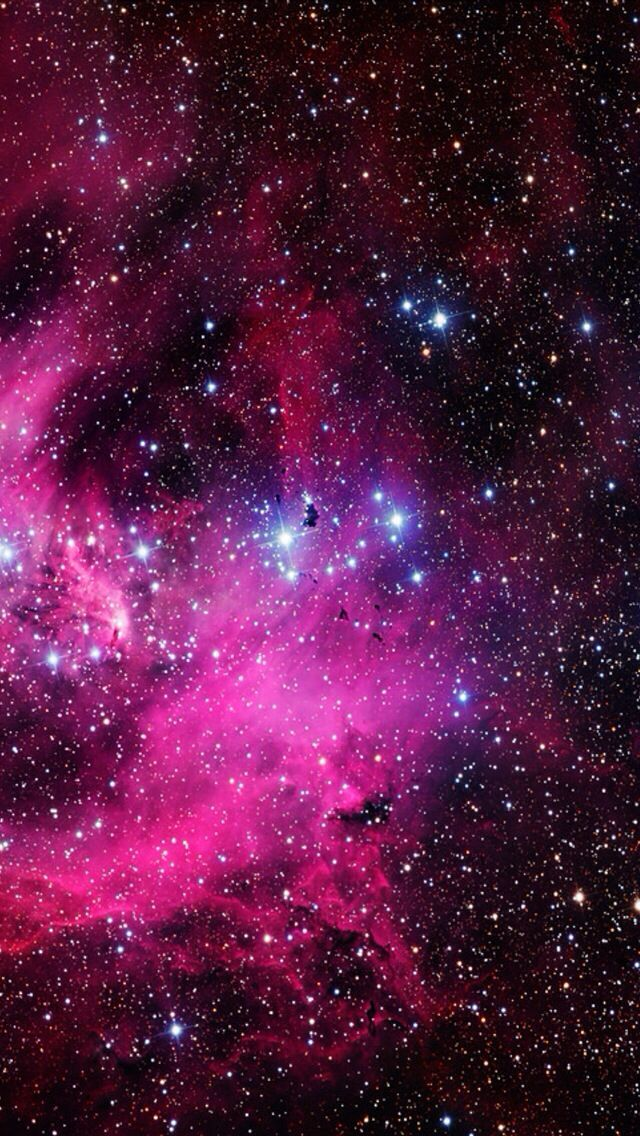 Pink Galaxy Iphone Wallpaper Background