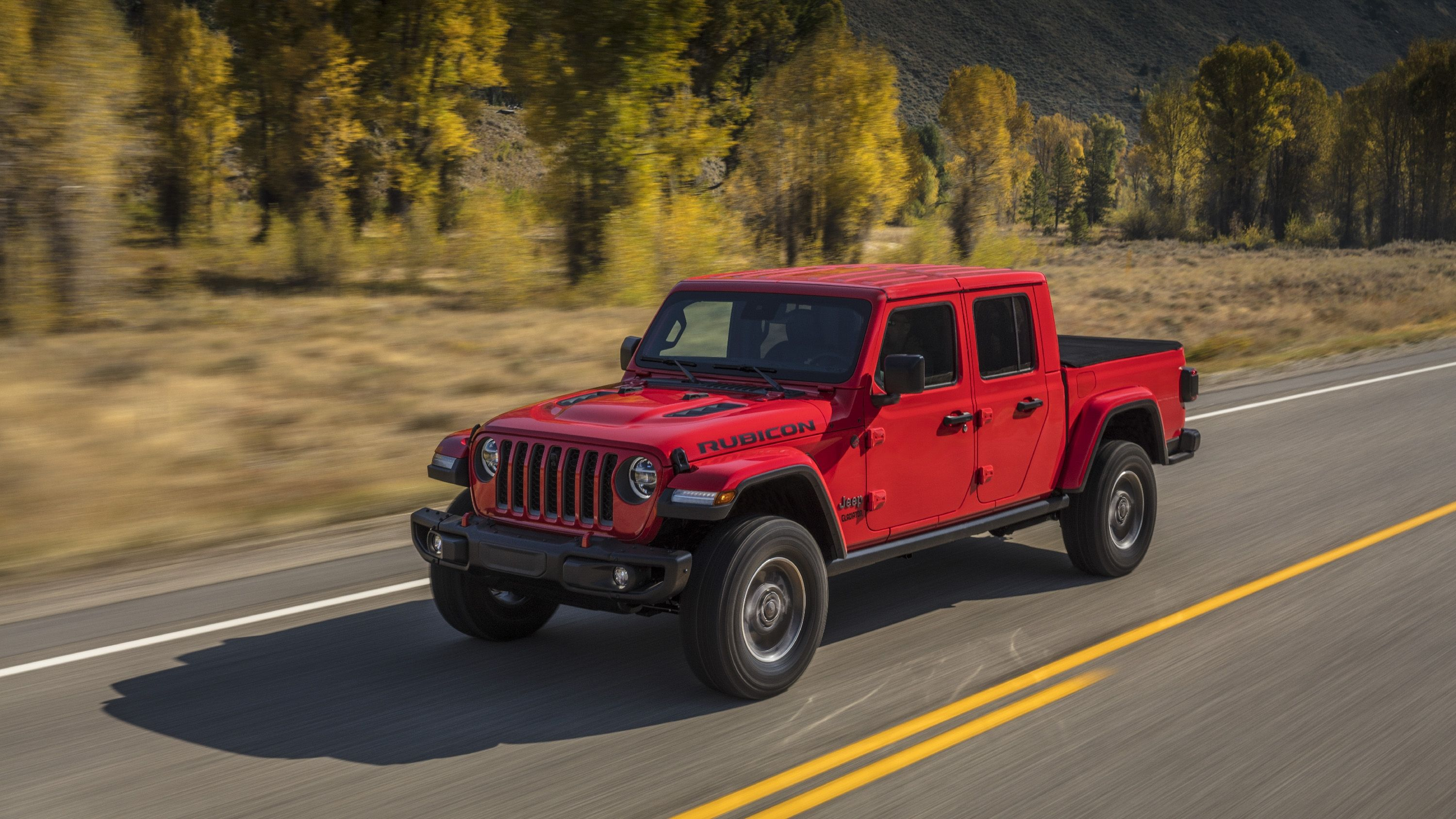 The Jeep Gladiator Stays True To Its Roots With A Standard Six