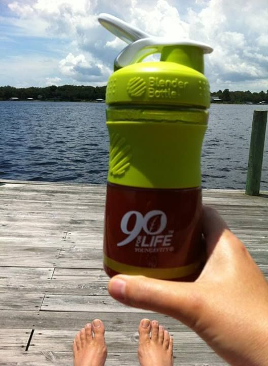 Sherry Smith Harris - Youngevity. Life is good! I'm getting my vitamin D, and all my other vitamins & minerals in my BTT! #takeapictuesday #youngevity #90forLife #BTT #delicious