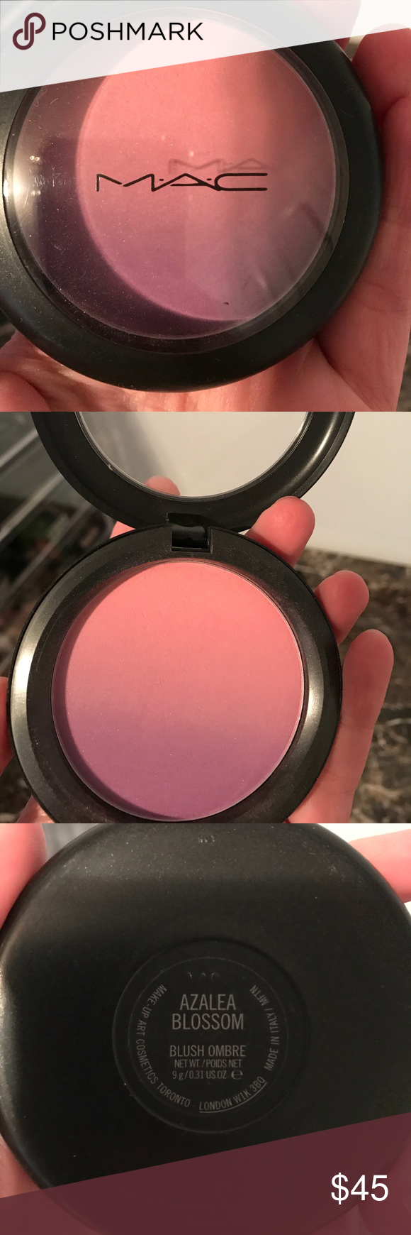 Limited Edition MAC ombré large blush Limited edition mac