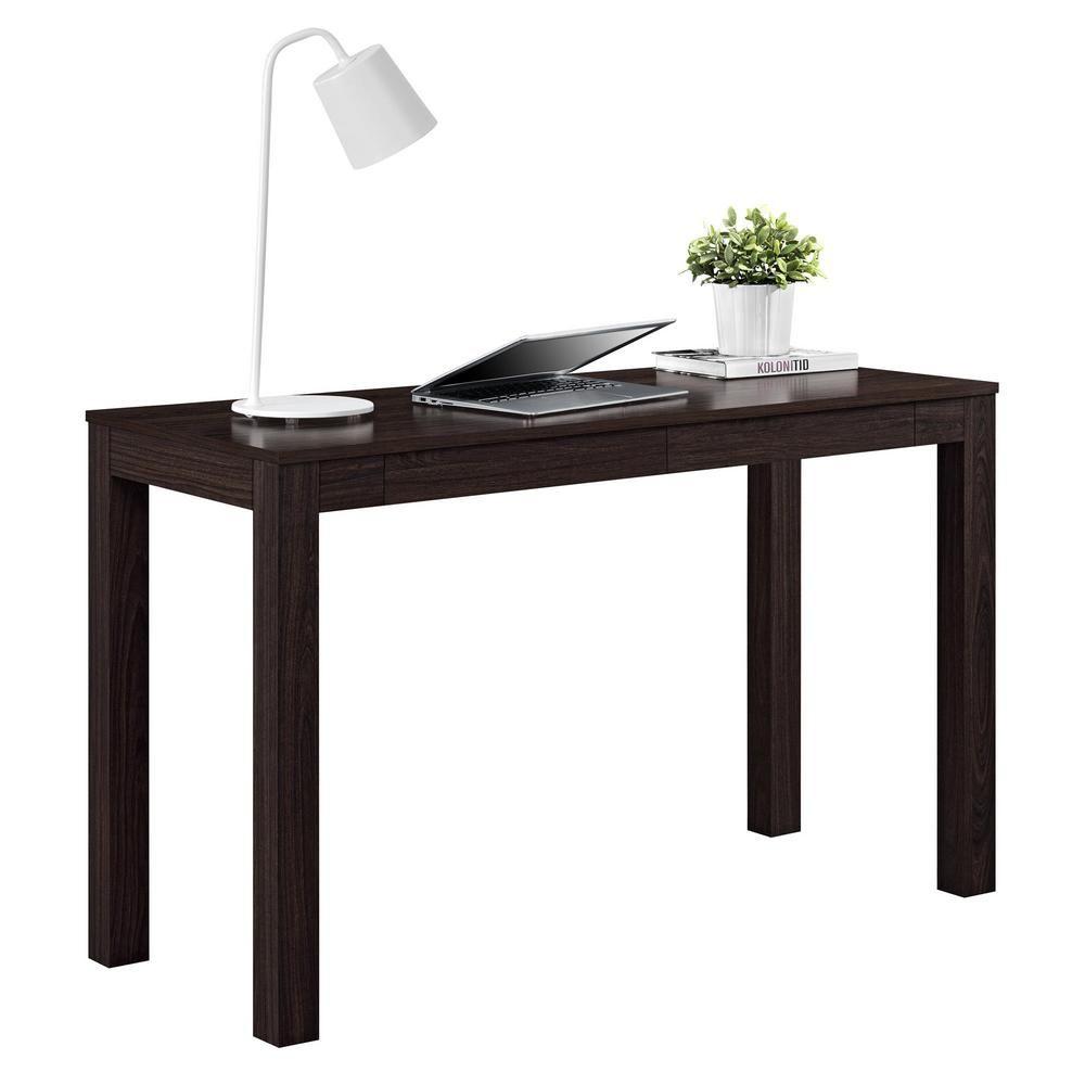 Ameriwood Nelson Xl Espresso Desk Hd05250 Writing Desk