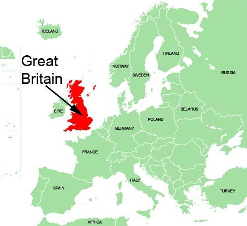 Great Britain Is The Largest Island In Europe And The Eighth Largest