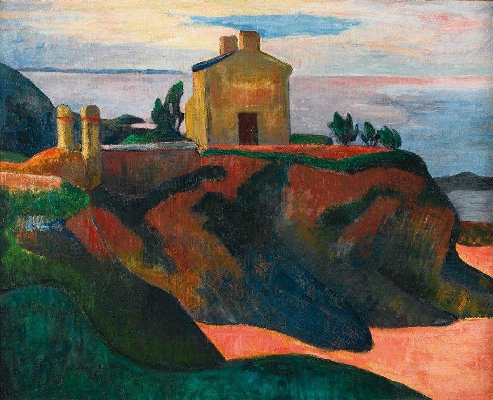 Paul Gauguin (1848-1903)  The House at Pan-Du.