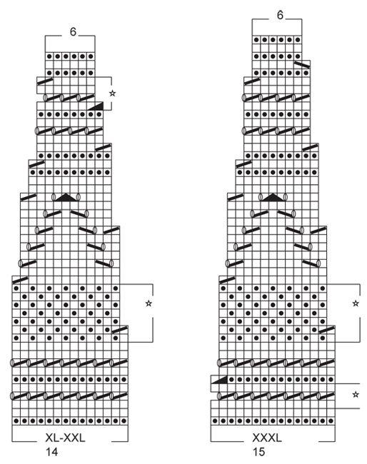 Pitsineuleinen DROPS kaarrokeliivi Muskat-langasta. Koot S-XXXL. Ilmaiset ohjeet DROPS Designilta.