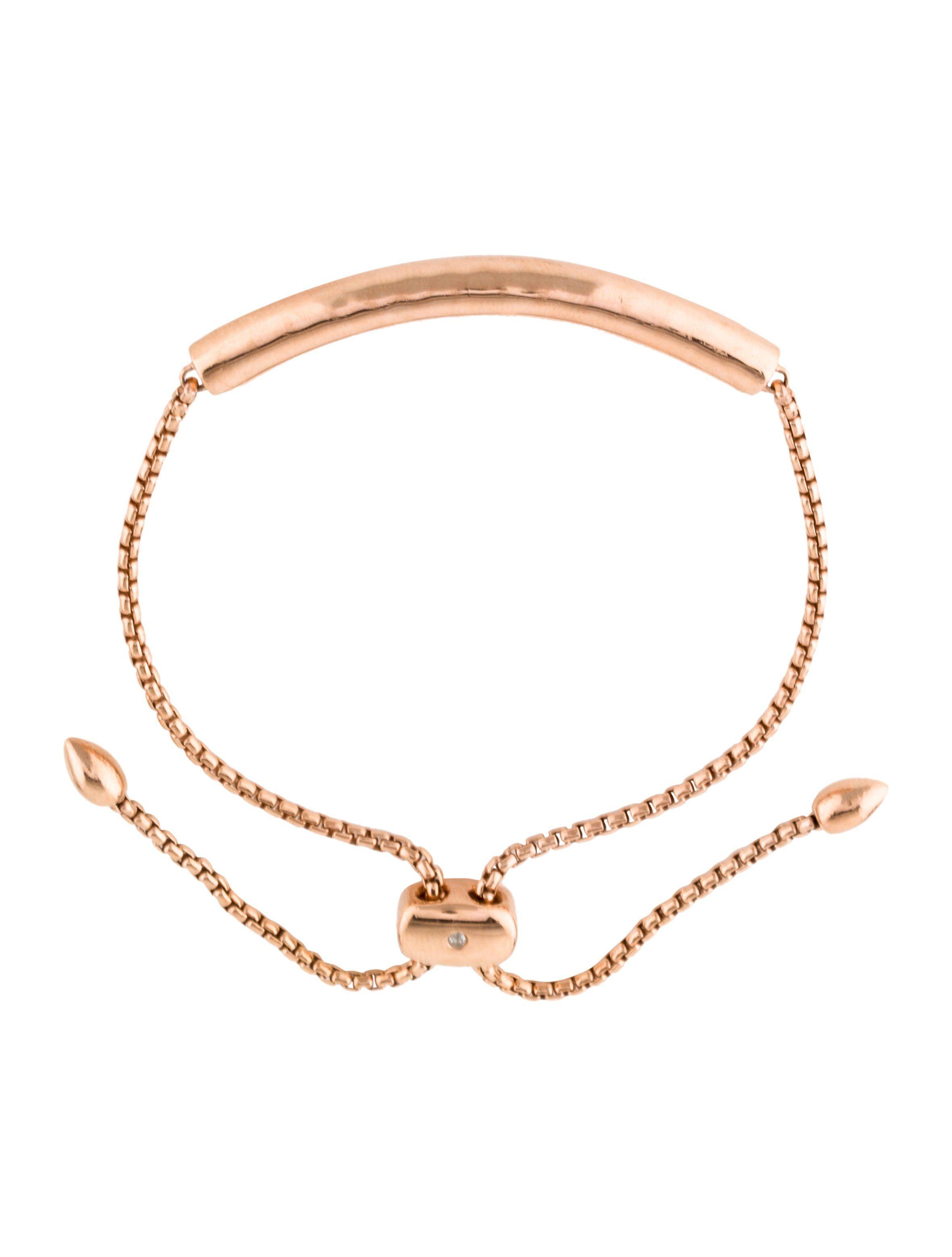 6576d52033d5a9 18K rose gold-plated and sterling silver Monica Vinader Ensencia Friendship  bracelet featuring adjustable closure.