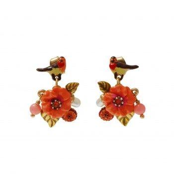 /1730-2873-thickbox/boucles-d-oreilles-sous-le-chataignier-fleur-rouge-gorge-et-perles-.jpg
