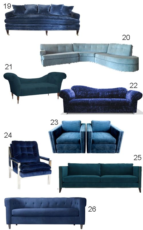 Best Get The Look Blue Velvet Sofas Blue Velvet Sofa 400 x 300