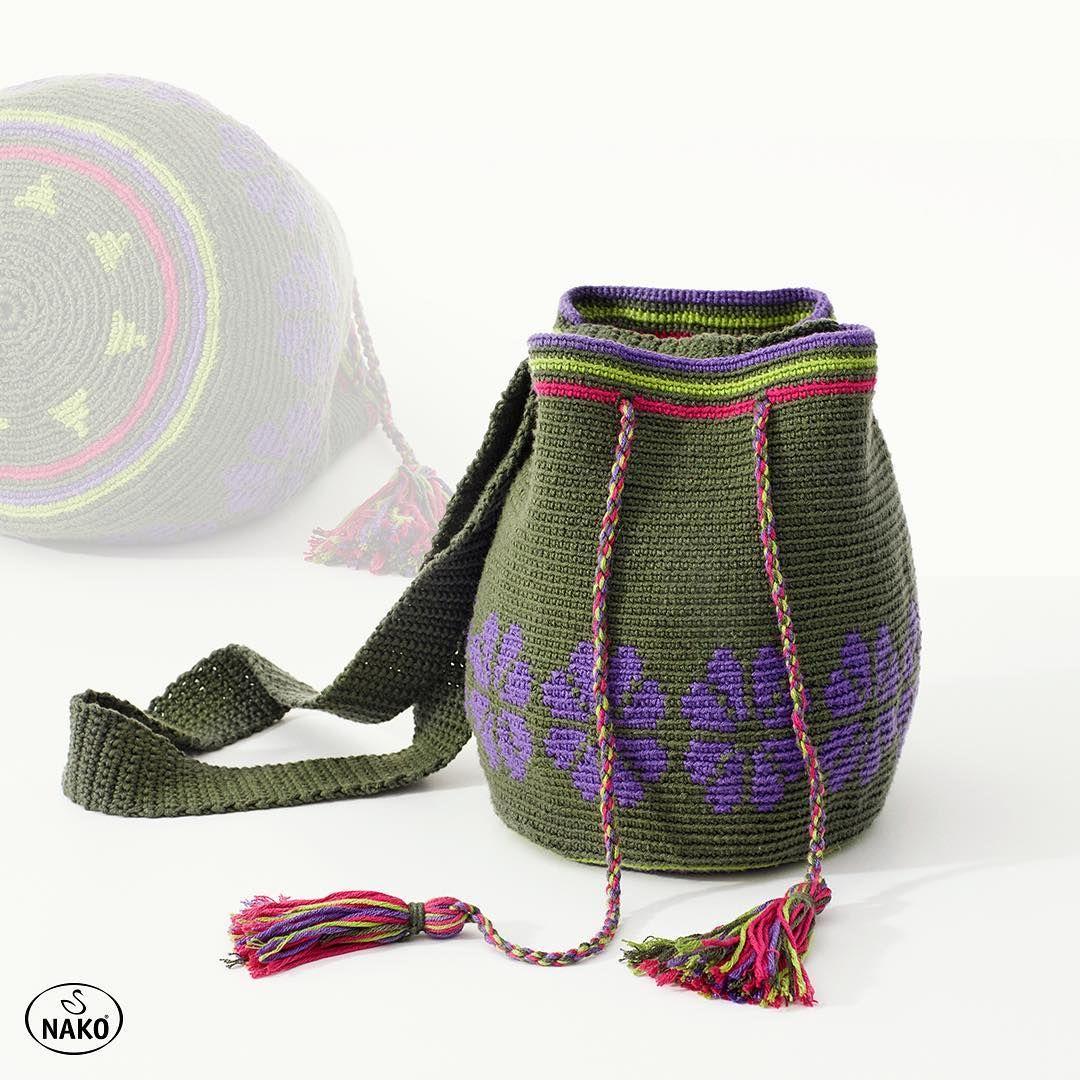 Hala Nako Pırlanta Wayuu ile çanta örmediyseniz, denemenin tam ... | 1080x1080