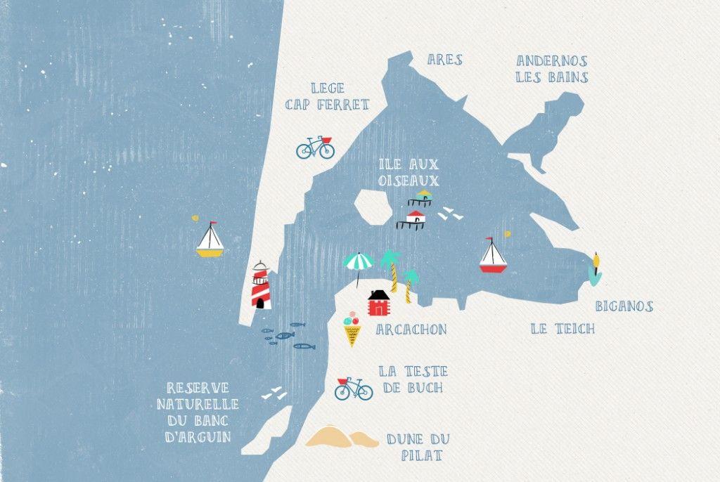 les 25 meilleures id es de la cat gorie arcachon carte sur pinterest arcachon tourisme carte. Black Bedroom Furniture Sets. Home Design Ideas