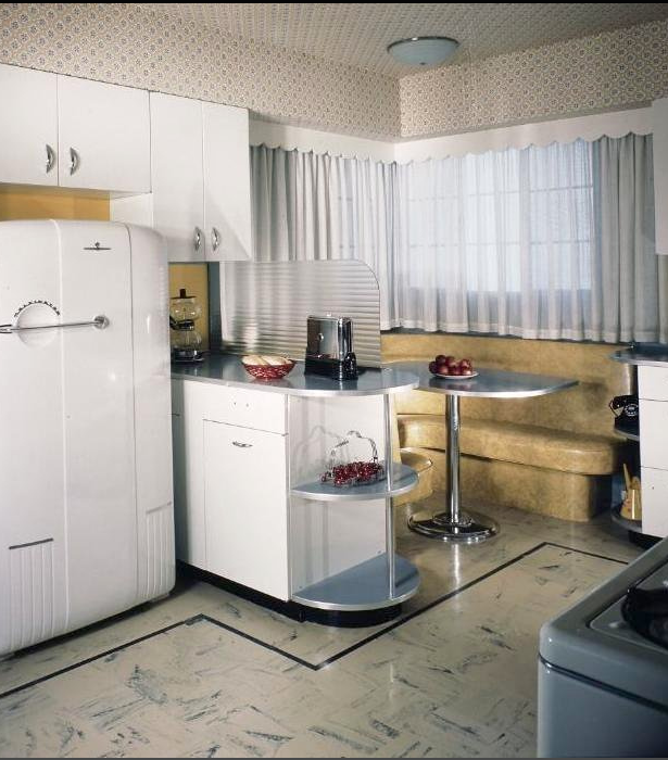 c 1945 retro kitchen kitchen nook kitchen on kitchen nook id=74159