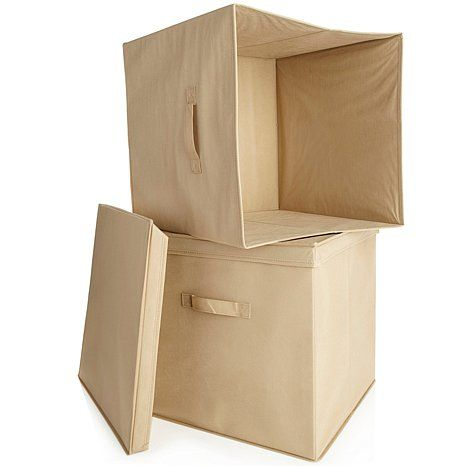 Origami Storage Bin 2 Pack For Large Rack Sewing Room Ideas
