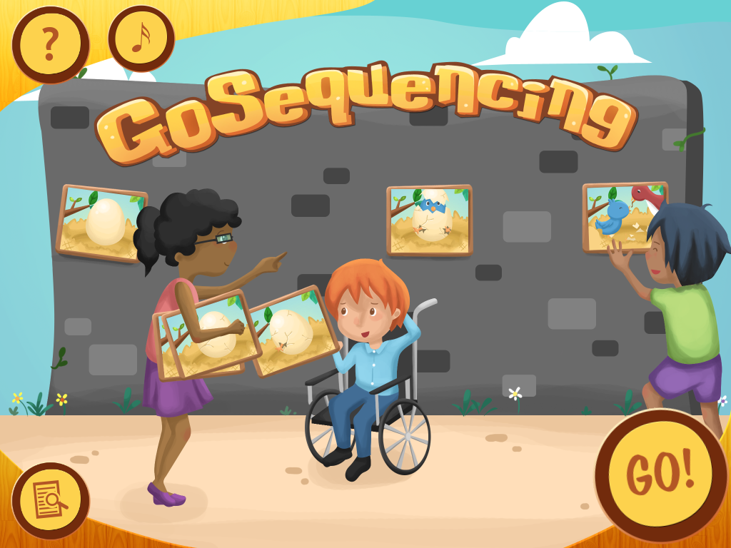 Let's GO Sequencing…an App Review Language activities