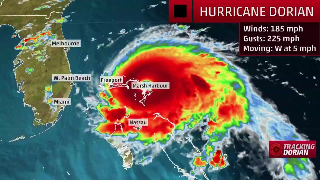 Dorian Prompts Hurricane Warning For East Coast Of Florida The Weather Channel The Weather Channel Florida East Coast Hurricane