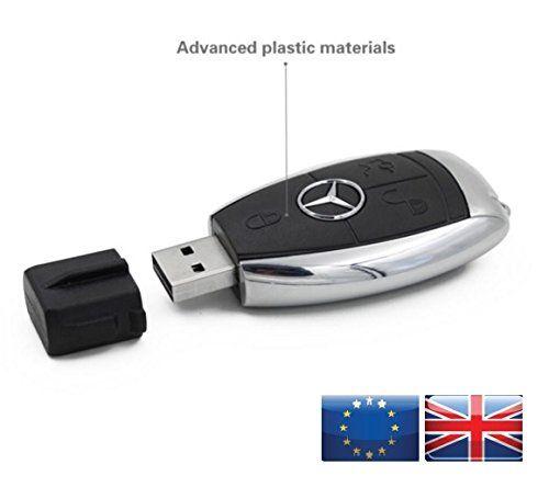 8gb mercedes car key usb stick flash drive other http. Black Bedroom Furniture Sets. Home Design Ideas
