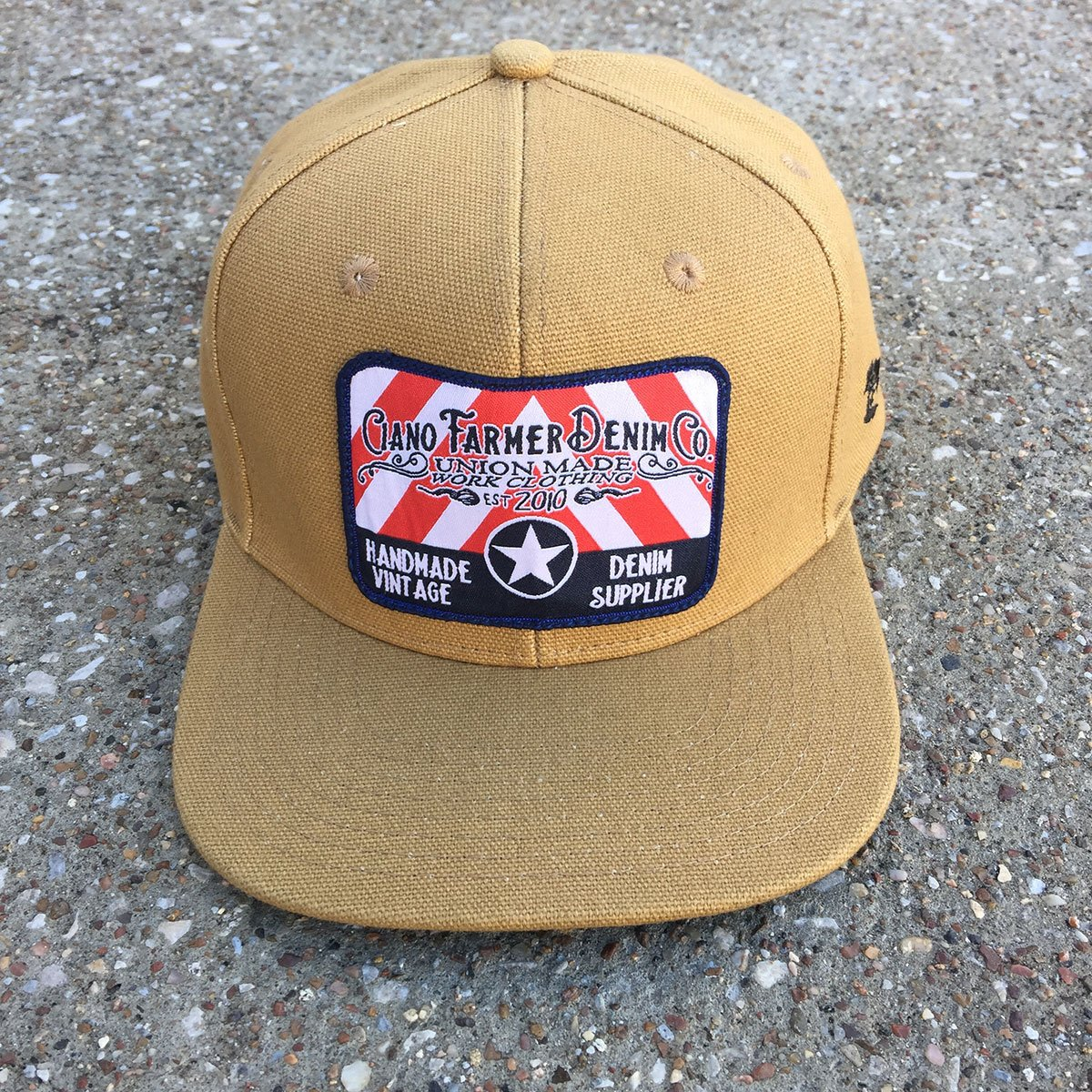 15oz Usa Duck Canvas Snapback Hat Embroidery Patch Hat Embroidery Hats Snapback Hats