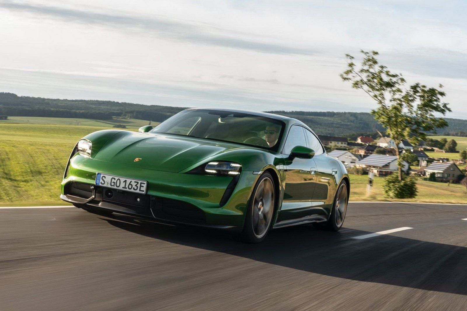 About The Nürburgring The 2020 Porsche Taycan