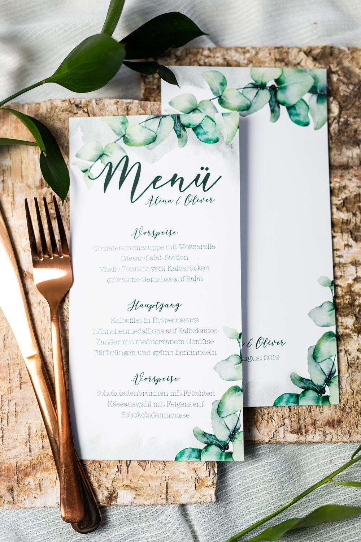 Photo of Einladung für Hochzeiten im Grünen, natürliche Papeterie in Grün, Hochzeitsp…