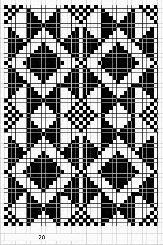 Wayuu Mochila chart | patrón crochet | Pinterest | Mochilas ...
