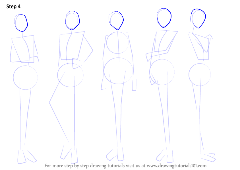 How To Draw A Body Step By Step