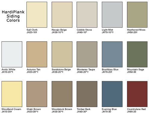 Ideas And Colors With Hardy Plank Like The Boothbay Blue Evening Blue From These Color