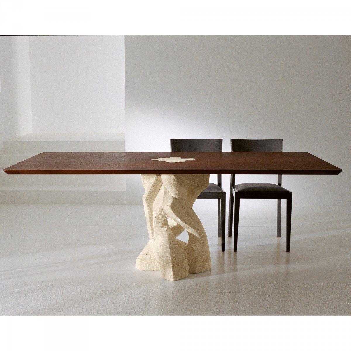 Tavolo In Vetro Con Base In Legno.Pin Di Keihome Su Laboratorio Del Marmo Modern Dining