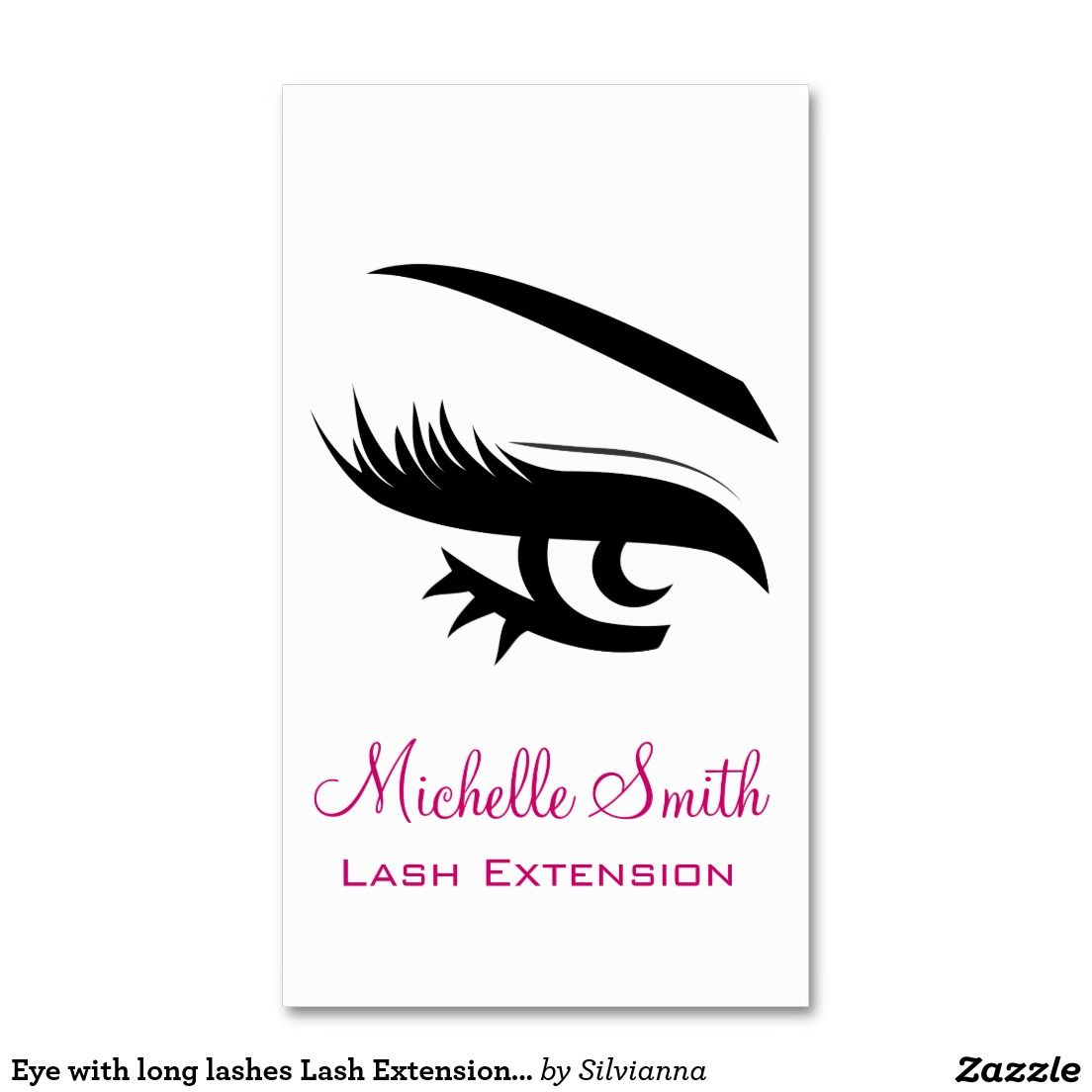 Eye with long lashes lash extension business card business cards eye with long lashes lash extension business card business cards magicingreecefo Image collections