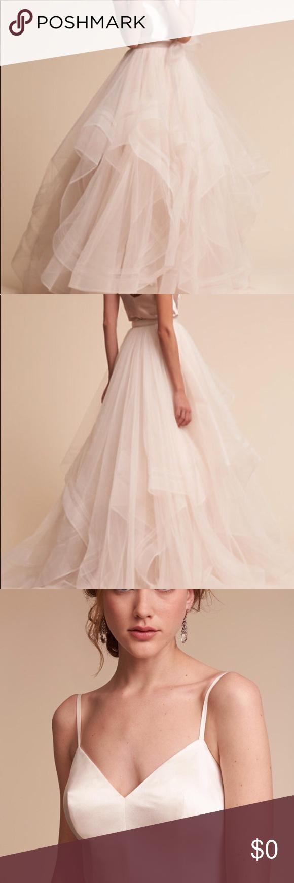Wedding dress bodysuit  Effie skirt  wedding dress  Bodysuit and Jewel