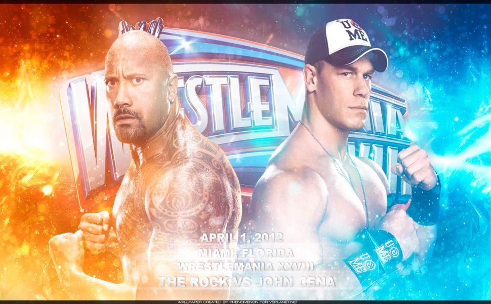 John Cena Vs The Rock Hd Wallpaper Wallpapers Pinterest The