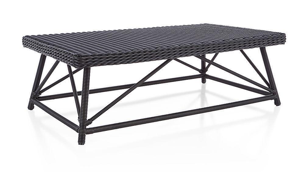 Calistoga coffee table coffee table crate and barrel