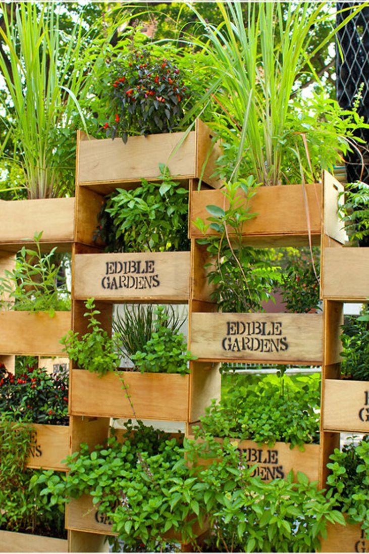 Creative Decorating Ideas For Small Backyards Como Hacer Un Huerto Jardines Verticales Caseros Huerta En Macetas