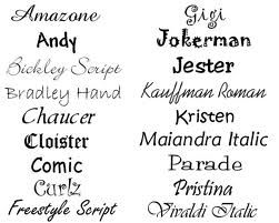 I like brickley script