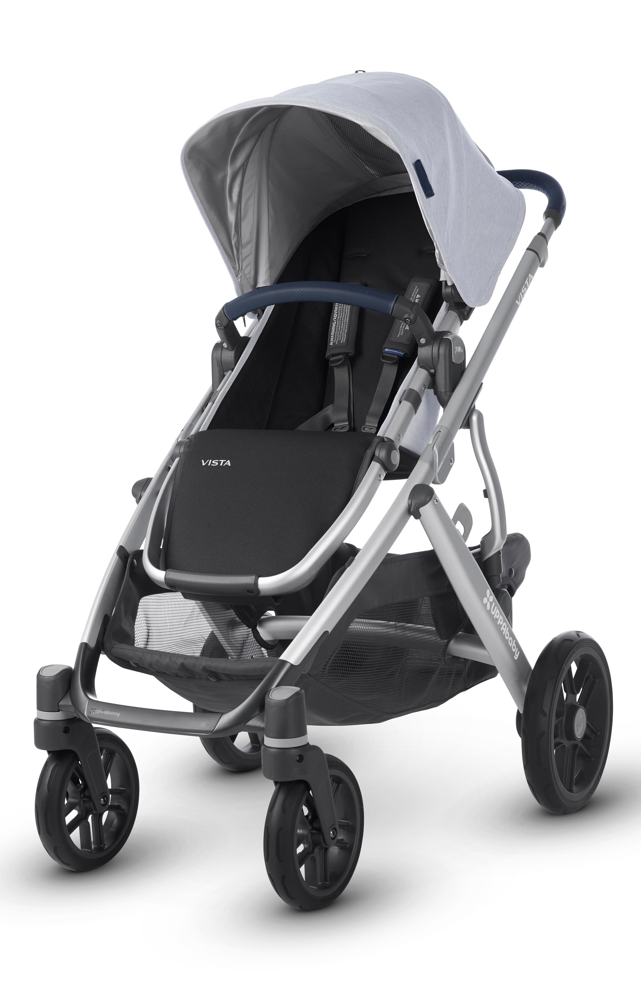 Infant Uppababy Vista Aluminum Frame Convertible Complete