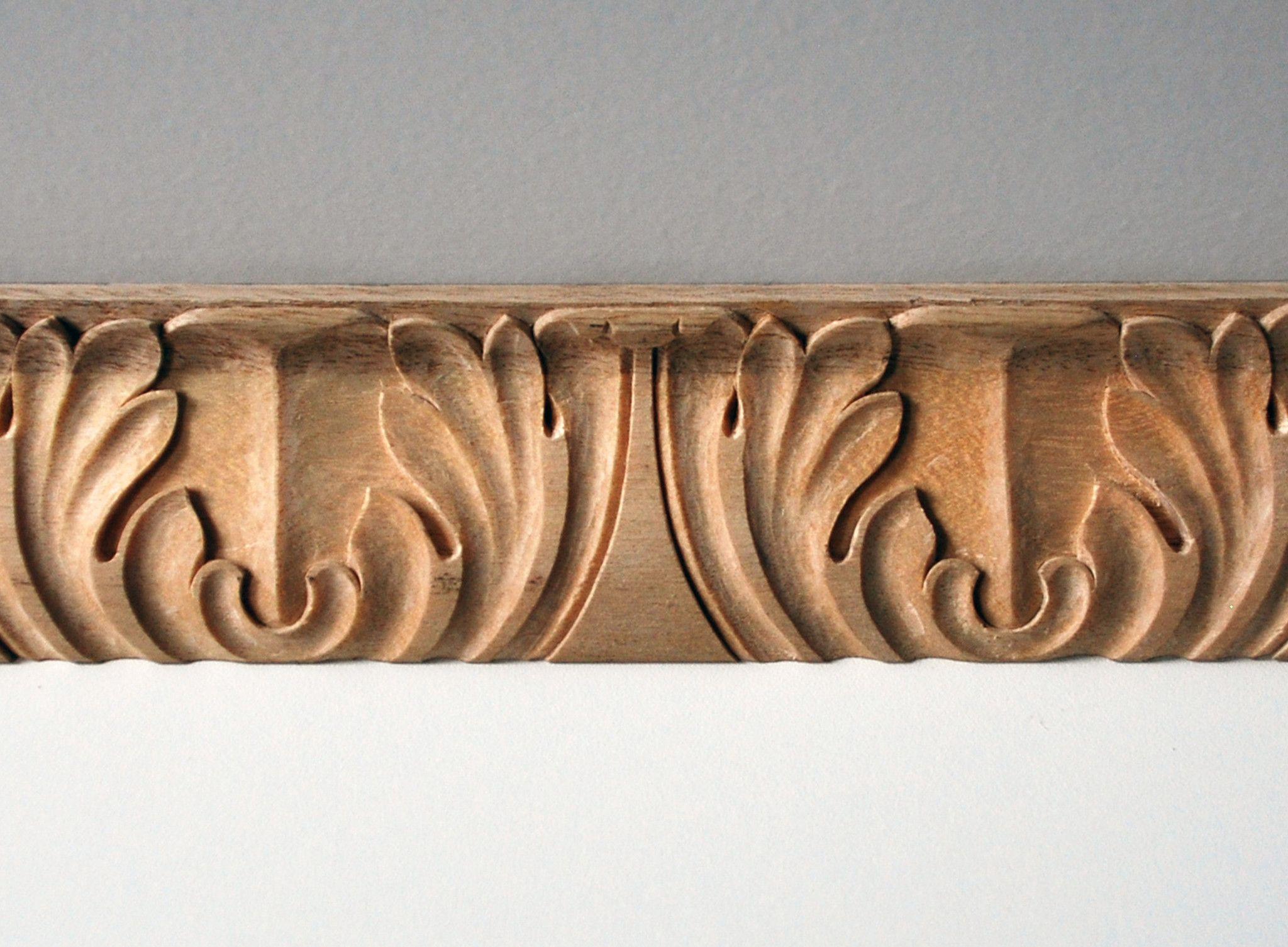 Classic Acanthus Leaf Moulding Mouldings Wood Molding