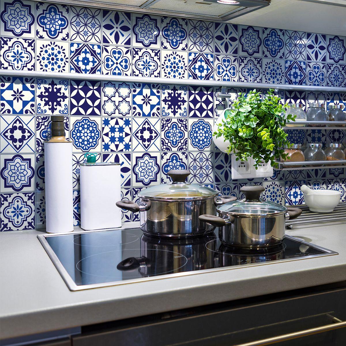 19 stickers carrelages azulejos Eusebio – Cuisine Carrelages