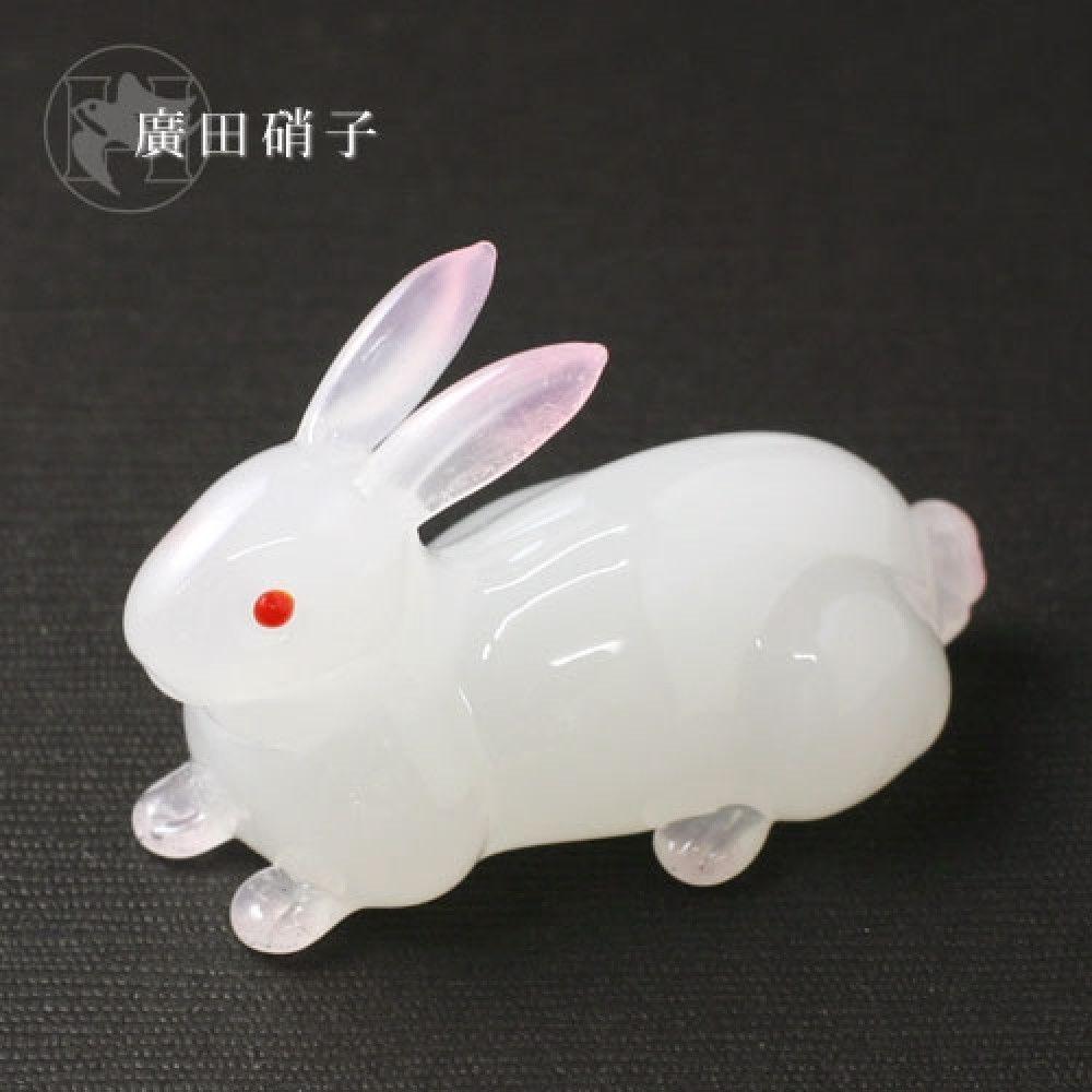 2pcs Hashioki Japanese Chopstick Rest Usagi Rabbit Hirota Glass Made in Japan | eBay