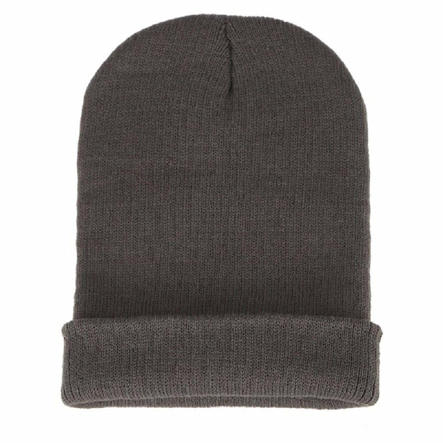 ce48bd201531e Slouchy Beanie Chunky Cable-Trendy Warm Oversized Unisex-Thick Knit Soft  Warm Winter Hat