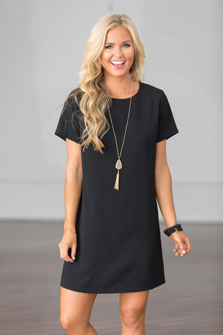 This Is Your Time Dress Black CLEARANCE