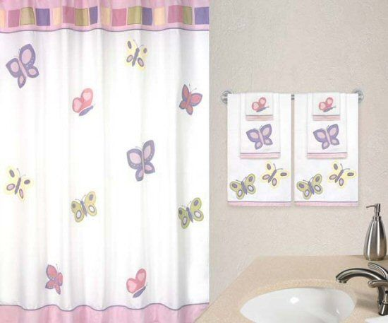 Butterflies On Bathrooms Butterfly Blessings Bathroom Set3