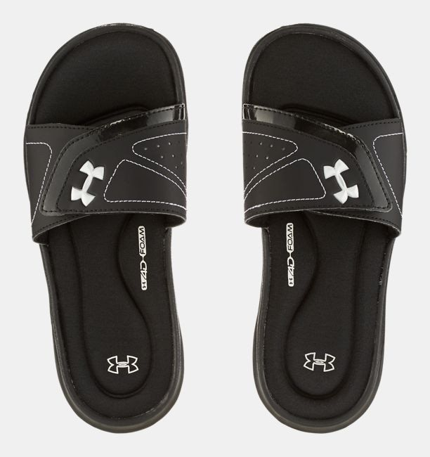 b3ae87415 Discover ideas about Nike Under Armour. April 2019. Mens UA Ignite III Slides  Sandal ...