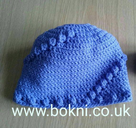 New Bobble Swirl Design Messy Bun Hat Crochet Pattern By Bokniart