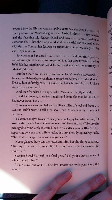 Part 12 Of The Bonus Scene With Nesta And Cassian Bookofademigod