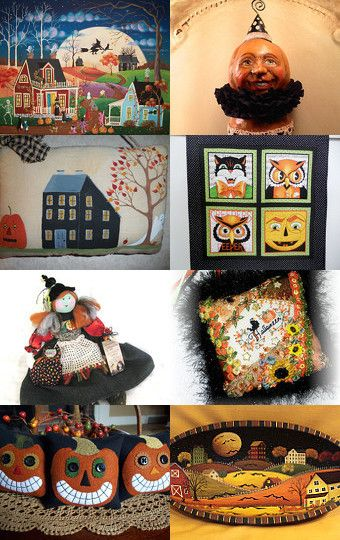 I Dream of Halloween by arcadecache on Etsy--Pinned with TreasuryPin.com